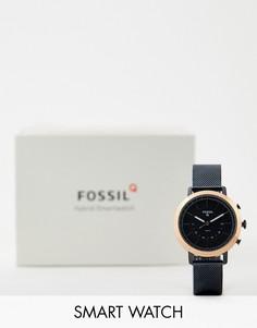 Смарт-часы Fossil FTW5031 Q Neely - 34 мм-Темно-синий