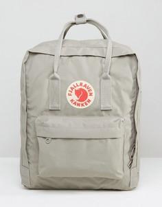 Серый рюкзак объемом 16 литров Fjallraven Kanken