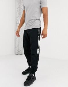 Черные спортивные брюки с логотипом adidas Originals-Черный