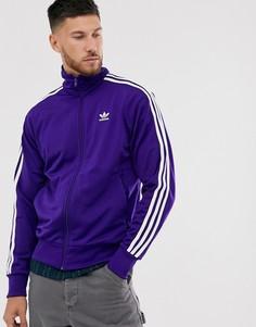 Фиолетовая спортивная куртка adidas Originals - firebird-Фиолетовый
