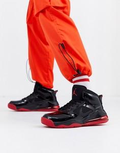 Черно-красные кроссовки Nike Jordan Mars 270-Черный