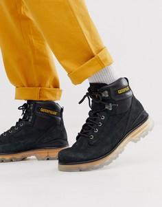 Черные походные ботинки Caterpillar-Черный