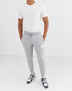Серые узкие джоггеры New Balance-Серый
