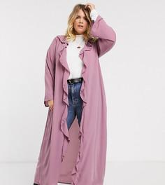 Куртка с оборками спереди Verona Curve-Розовый