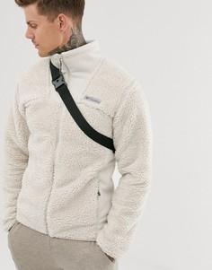 Бежевая куртка на молнии Columbia - Winter Pass-Кремовый