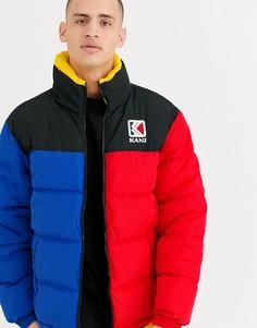 Двусторонняя дутая куртка Karl Kani Retro-Синий
