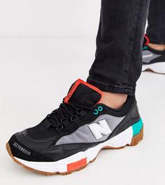 Черные кроссовки для бега по пересеченной местности New Balance 801 эксклюзивно для ASOS-Черный