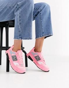 Неоново-розовые кроссовки New Balance X-Racer-Розовый