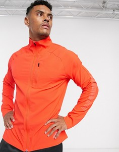 Оранжевая куртка adidas performance-Оранжевый