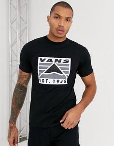 Черная футболка Vans-Черный