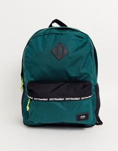 Зеленый рюкзак Vans