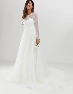 Свадебное платье ASOS EDITION - princess-Белый