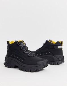 Черные ботинки на толстой подошве CAT Resistor-Черный