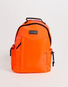 Легкий неоново-оранжевый рюкзак из нейлона Consigned