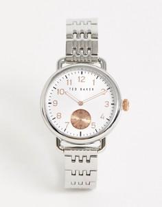 Серебристые наручные часы Ted Baker Hannahh-Серебряный