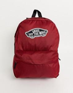 Бордовый рюкзак Vans Realm Plus-Красный