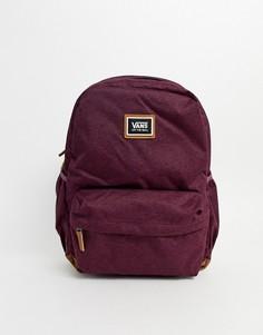 Бордовый рюкзак Vans-Красный
