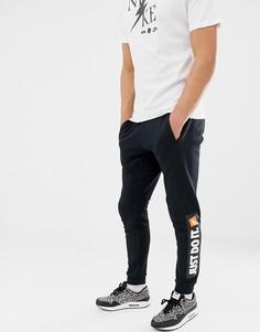 Черные джоггеры скинни Nike JDI 928725-010-Черный