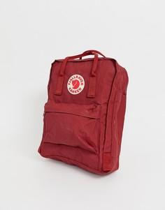 Красный рюкзак Fjallraven Kanken