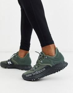 Зеленые кроссовки для бега по пересеченной местности New Balance-Зеленый