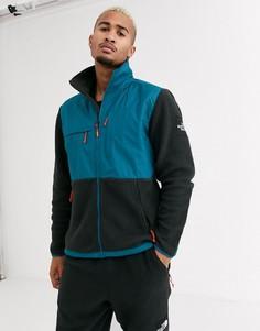 Синяя/черная флисовая куртка The North Face Denali-Синий