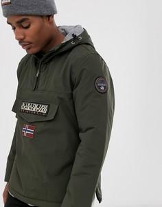Зеленая куртка Napapijri Rainforest Winter 1-Зеленый