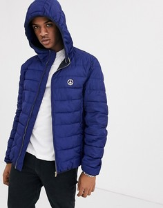 Дутая куртка Love Moschino-Синий