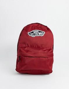 Красный рюкзак Vans