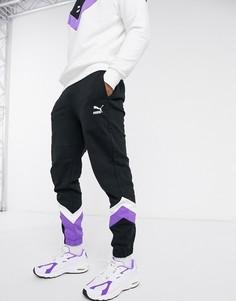 Черные спортивные штаны Puma-Черный