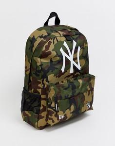 Рюкзак с камуфляжным принтом New Era MLB NY-Мульти