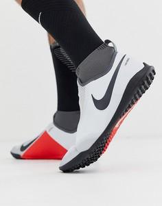 Серые футбольные бутсы Nike Football React Obra Pro Astro AO3277-060-Серый