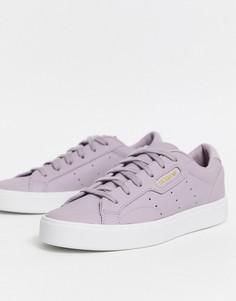 Фиолетовые кроссовки adidas-Фиолетовый