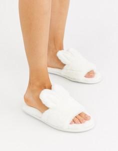 Белые слиперы New Look-Белый
