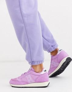 Кроссовки в винтажном стиле Saucony-Фиолетовый