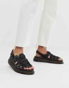Черные сандалии Dr Martens 8092 Arc-Черный