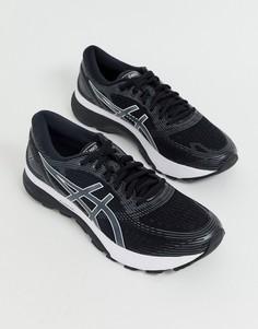 Черные кроссовки Asics Running gel nimbus 21-Черный