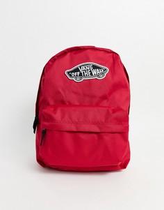 Ярко-розовый рюкзак Vans Realm