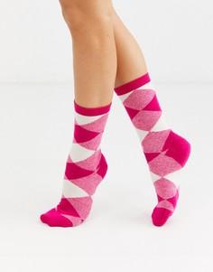 Розовые носки с принтом & Other Stories-Розовый