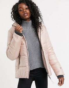 Розовое пальто Free Country-Розовый