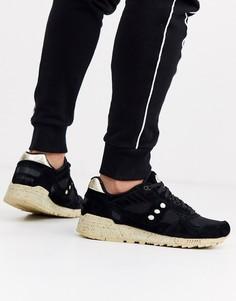 Черные кроссовки Saucony Shadow 5000-Черный