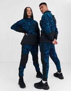 Синие флисовые брюки с принтом The North Face 94 Rage-Синий