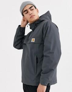 Серая куртка Carhartt WIP-Черный