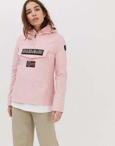 Розовая куртка Napapijri Rainforest-Розовый