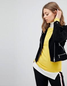 Замшевая куртка Vero Moda-Черный