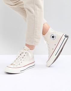 Высокие кроссовки кремового цвета Converse Chuck 70-Кремовый