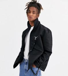 Черная куртка на молнии COLLUSION-Черный