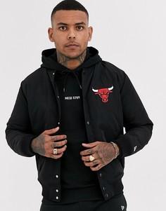 Черная куртка New Era NBA Chicago Bulls-Черный