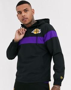 Черная куртка New Era NBA Los Angeles Lakers-Черный