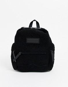 Рюкзак из искусственного меха Hunter Original-Черный
