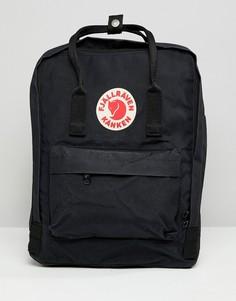Черный рюкзак Fjallraven kanken